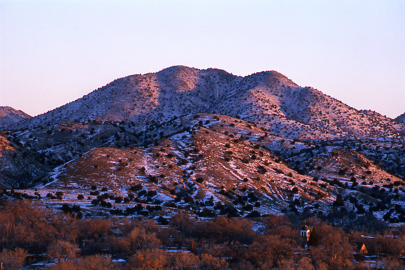 Sunrise Over Cerrillos